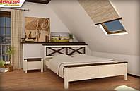 Двоспальне ліжко Прованс МГ