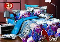 Недорогое  постельное белье, семейный комплект постельного белья XHY054 пододеяльник (2 шт) 145x215