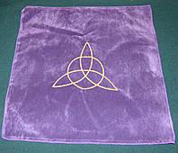 Скатерть фиолетовая Триксель