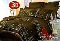 Комплект постельного белья, семейный, ткань поликоттон, пододеяльник (2 шт) 150x215, BL7835