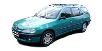 Лобовое стекло Peugeot 306 ,Пежо 306 1992-2001- AGC