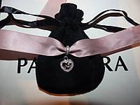 Pandora серебряный шарм-подвеска с камнями Мама Пандора
