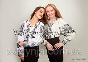 Заготовка Сокальської жіночої сорочки для вишивки нитками/бісером БС-65