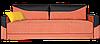 Диван Бонд BOND 870х2300х850мм    Давидос ECO Line, фото 2