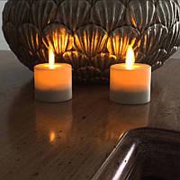 """Электронная свеча """"чайная"""" с имитацией пламени"""
