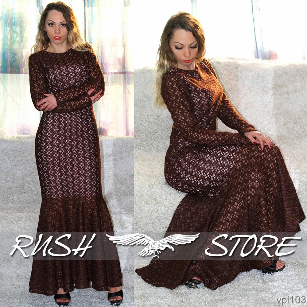 4e792456612 Купить Женское платье в пол в Николаеве от компании