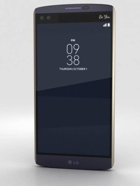 Смартфон LG V10 (Ocean Blue)