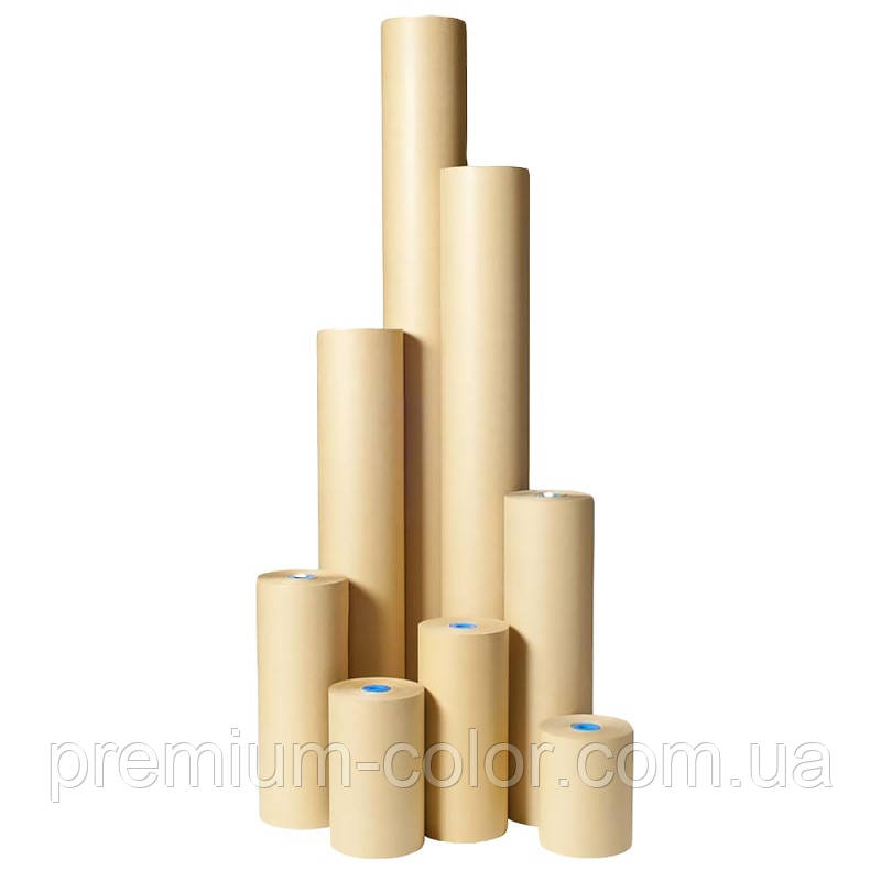 Маскирующая бумага 50 г/м² (желтая), 300м Colad