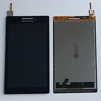Оригинальный дисплей (модуль) + тачскрин (сенсор) для Lenovo Tab 2A7-10 | A7-10F | A7-20 | A7-20F (черный)
