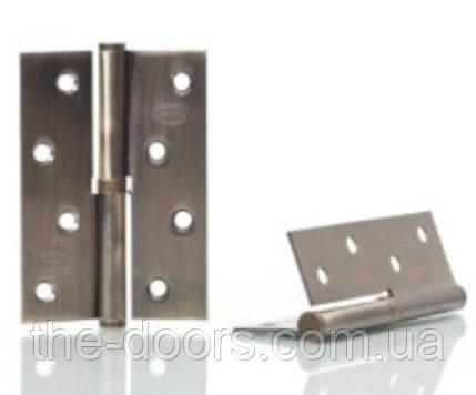 Петля съёмная NS 100*70-1BB-AB / бронза