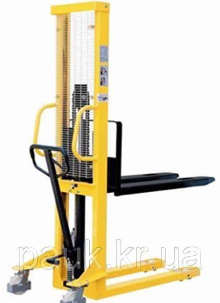 Штабелер Skiper SKJ 1000\1600(центр 600 мм) для піддонів гідравлічний