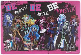 """Подкладка настольная """"Monster High"""" 42.5х29 см."""