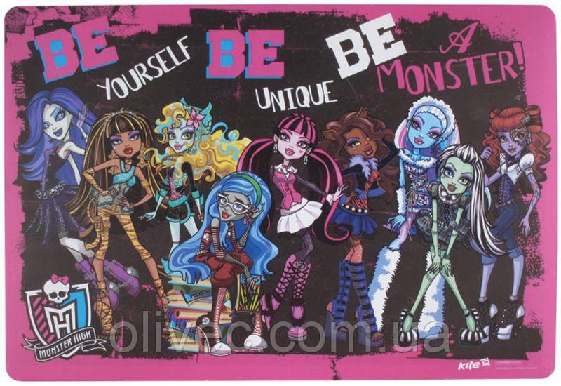 """Подкладка настольная """"Monster High"""" 42.5х29 см. - Міні-маркет """"Олівець"""" в Бахмуте"""