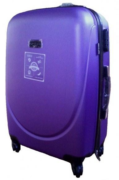 Чемодан на четырех колесах Wings 68935, 36 л, фиолетовый