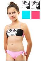 Яркий детский купальник Keyzi на рост 152-164 модель Kamila