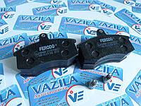 Колодки передние тормозные Ferodo FDB 527 ВАЗ 2108 - 21099, 2113 - 2115