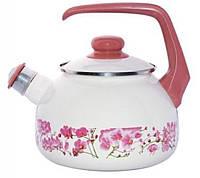 116793 Чайник эмалированный 2.5л 2230 Сакура Мetalac