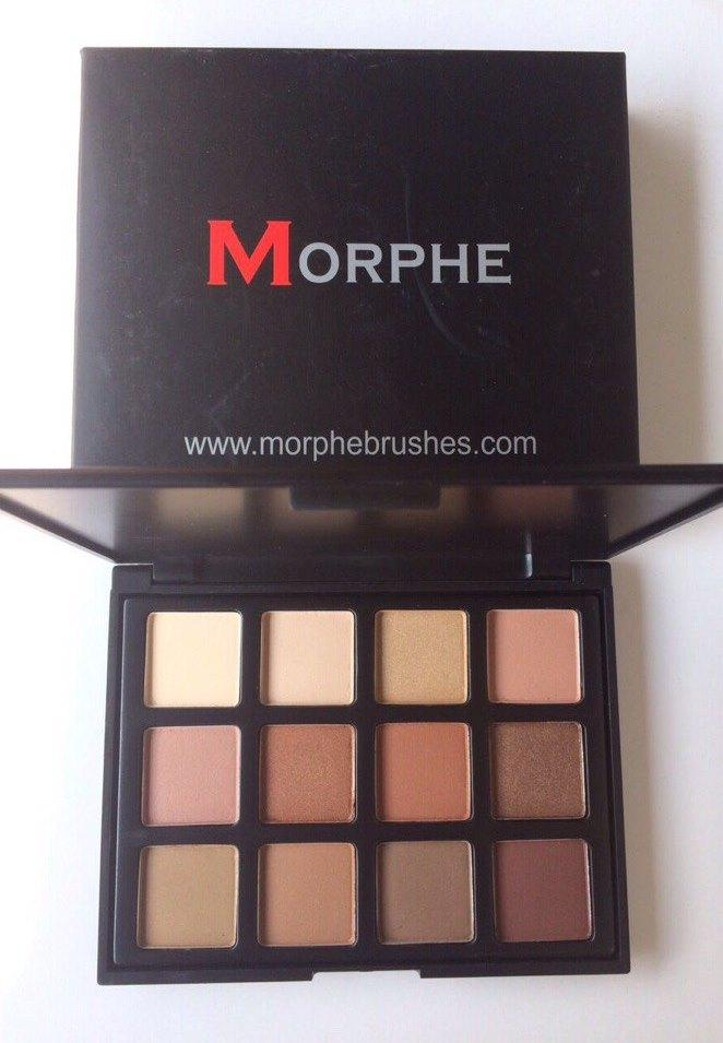 Тени для век Morphe Brushes 12 цветов (Морфи Брашер)