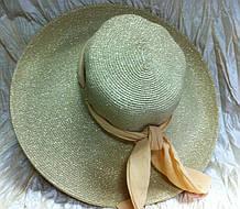 Элегантная шляпа  ,шарфиком регулируется  размер