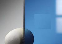 Монолитный Поликарбонат Borrex (Боррекс) 2,05*3,05 м. 2 мм.Синий