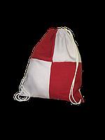 Рюкзак габардин клетка для сублимации цвет Красный