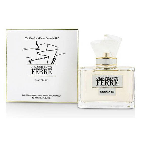 Набор Gianfranco Ferre Camicia 113 (парфюмированная вода 50мл+лосьон д/тела 100мл+косметичка)