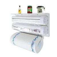 Держатель для бумажных полотенец, фольги и пленки