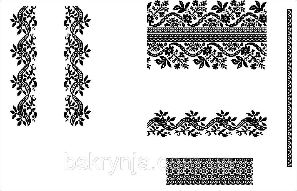 Заготовка Сокальської жіночої сорочки для вишивки нитками бісером БС ... 612c9b0333acb