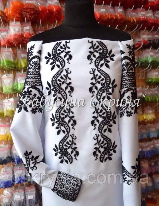 ... Заготовка Сокальської жіночої сорочки для вишивки нитками бісером БС-62 14a189cf8fc71
