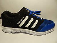 """Мужские кроссовки """" Adidas Sport black-blue """"."""