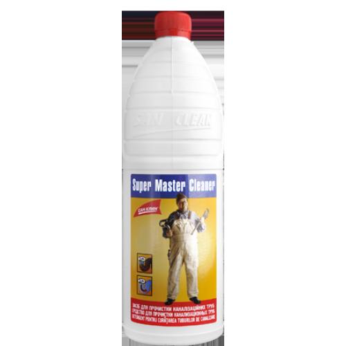 Средство жидкое для чистки труб (1,2л) Мастер Клинер
