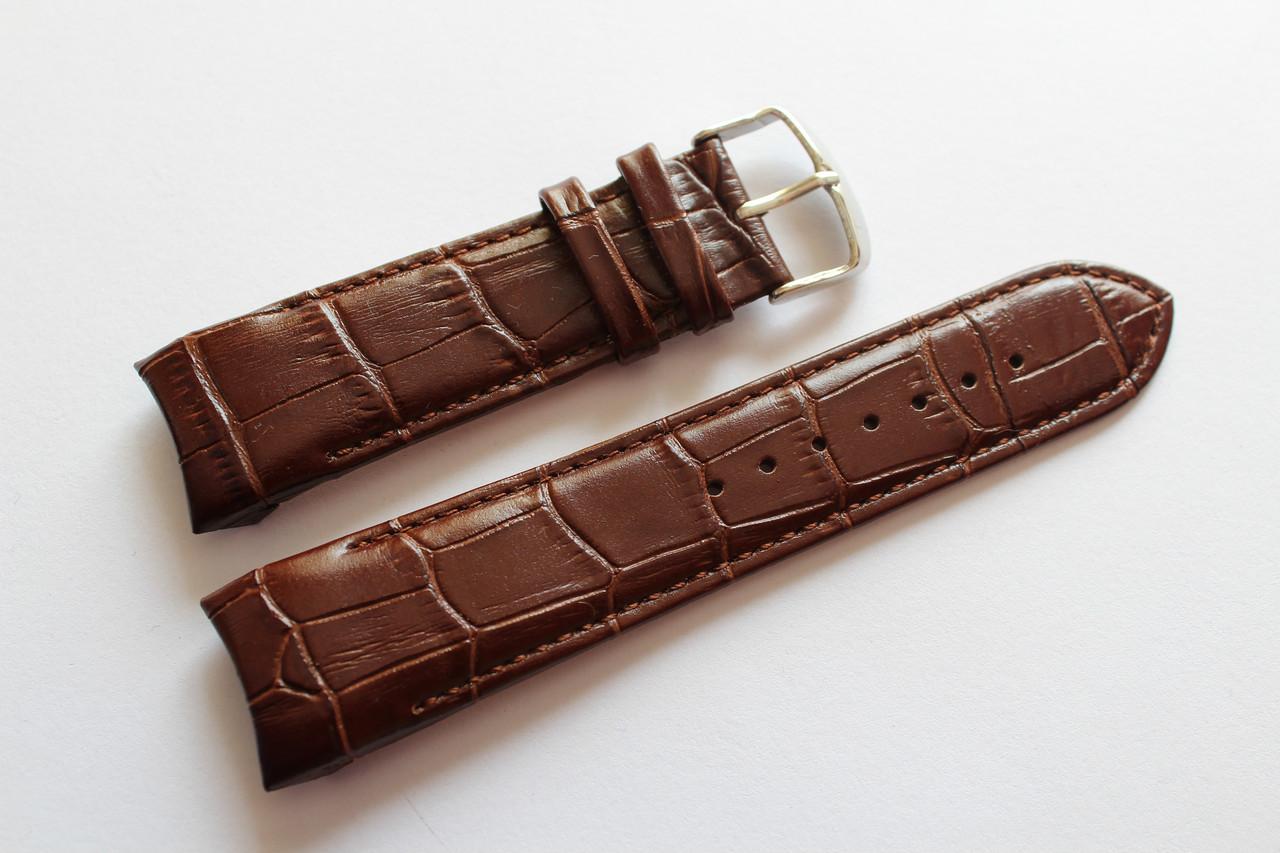 Кожаный ремень для часов TISSOT coturier- оригинальный ремешок для часов 24 мм