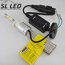 Комплект LED ламп в головной свет серии SL-R3 Цоколь H1, 40W, 4800 Люмен/Комплект, фото 2