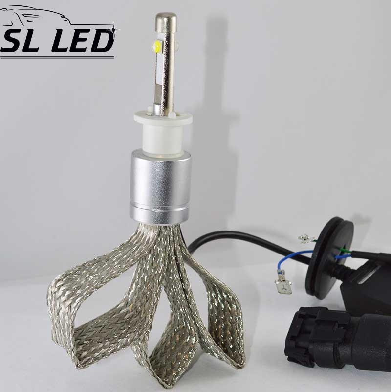 Комплект LED ламп в головной свет серии SL-R3 Цоколь H1, 40W, 4800 Люмен/Комплект