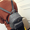 Модный серый рюкзак, фото 2