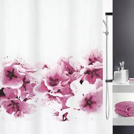 Текстильные шторки для ванной