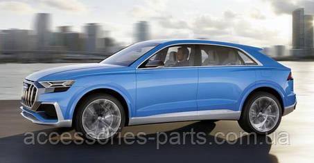В рамках трассы Нюрбургринг тестируется новая версия кроссовера Audi Q8
