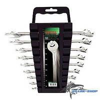Набор ключей комбинированных на холдере 9 шт.  6-19мм GAAC0901 TOPTUL