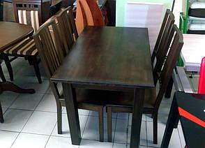 Стол обеденный нераскладной Степ  Fusion Furniture, цвет на выбор, фото 2