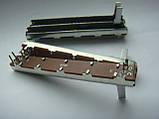 Фейдер длиной 75мм b10kx2  3x3ножки, фото 3