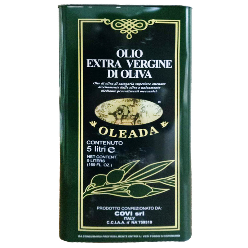 Оливковое масло (Oleada Olio) Олеада Экстра Верджине Олив Оил 5л - Камора - магазин вкусных продуктов в Днепре