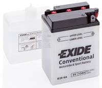 Аккумулятор мото EXIDE 6V 13AH 105A B38-6A [119X83X161], фото 1