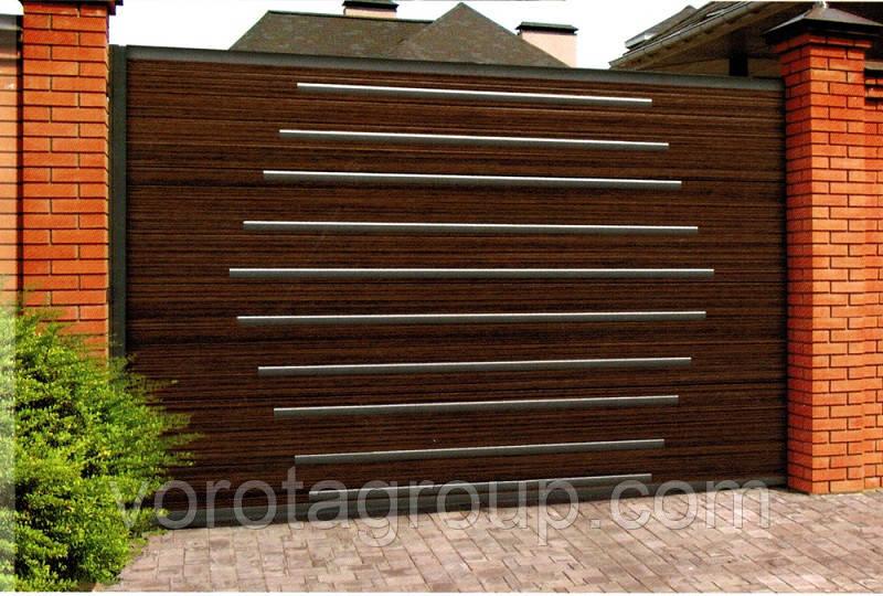 Откатные ворота DoorHan Premium 2 800 мм * 2 000 мм