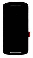 Дисплей (LCD) Motorola XT1062 Moto G2/ XT1063/ XT1064/ XT1068 с сенсором черный