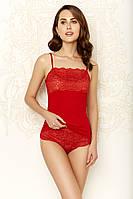 Комплект женский майка+шорты 46, красный