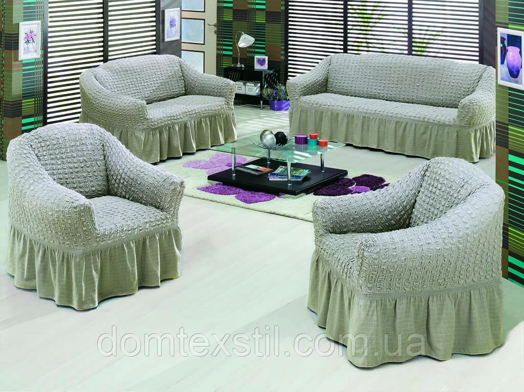 Чохол на диван+2 крісла (Максі розмір) Тм Evory home.Туреччина.