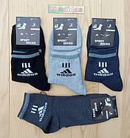 """Носки мужские демисезонные """"Adidas"""" средние 42-45р. НМД-101"""