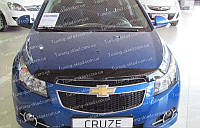 Дефлектор Шевроле Круз (мухобойка на капот Chevrolet Cruze)