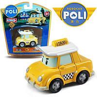 Такси Кэп (металлический, 6 см) Robocar Poli Silverlit