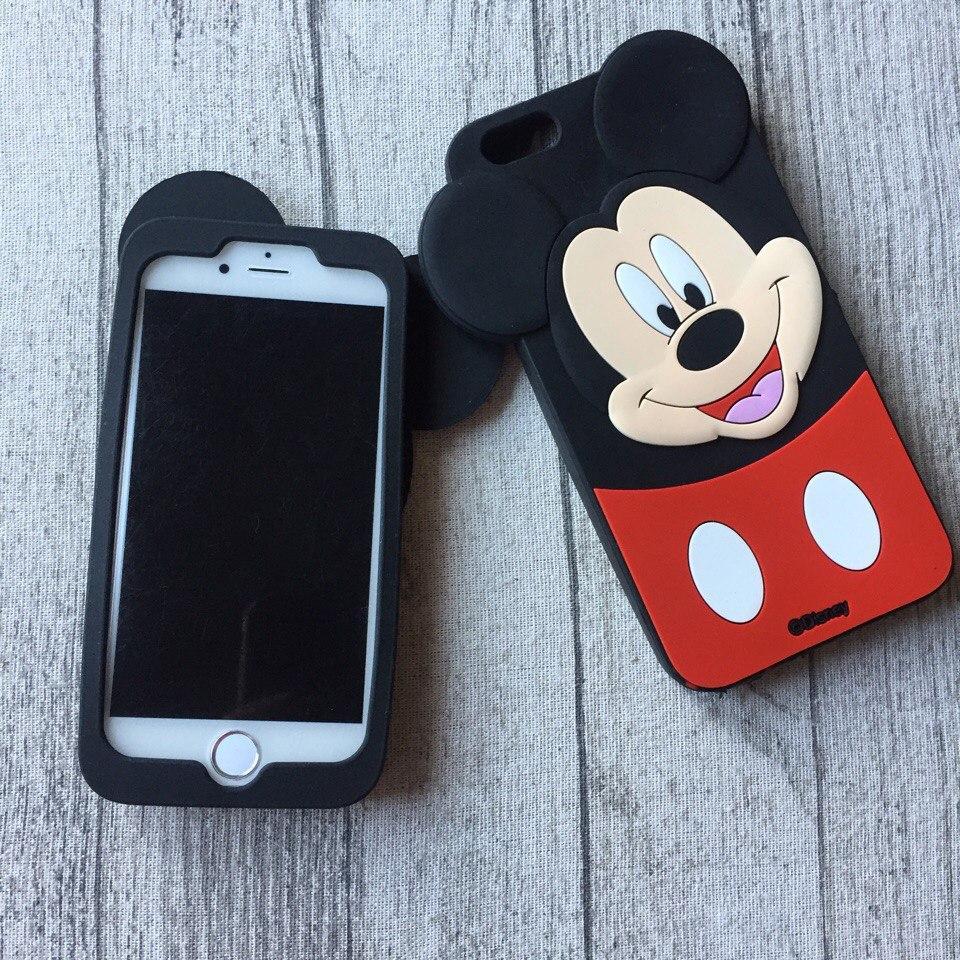 Силиконовый чехол Микки Маус для iPhone 6 Plus/6s Plus